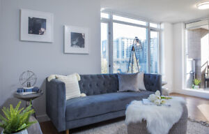 Fully renovated 1 bedroom  downtown @ Nelson & Burrard!
