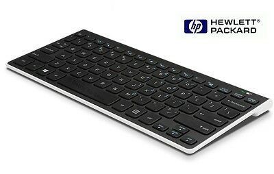 Tastiera wireless Bluetooth HP K4000 slim Keyboard per SO Android e Windows pc