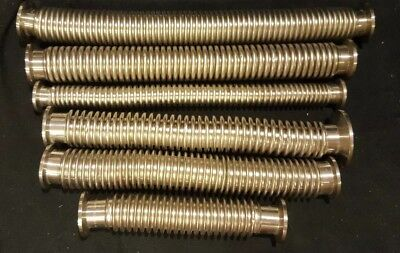 Kf-16 Kf-25 Stainless Steel Vacuum Flexible Bellows Corrugated Hose Nw50 Flanges
