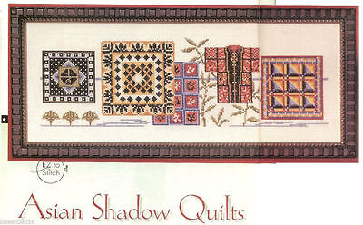 Shadow Cross - ASIAN SHADOW QUILTS    -   CROSS STITCH  PATTERN     HM - RYV