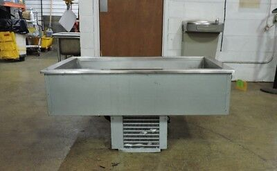 Delfield N8143B Commercial Drop-In Self-Contained Mechanically Cooled Cold Pan