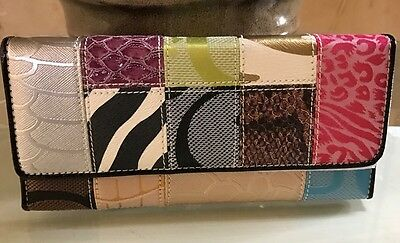 Women's Gorgeous Faux Leather Clutch Long Wallet Phone Card Holder Purse