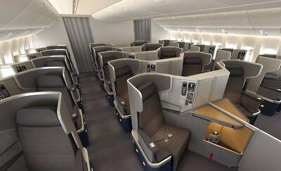 AA American Airlines International Business Class one-way Upgrade - AA SWU eVIP
