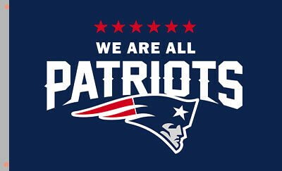 WE ARE ALL New England Patriots flag 90x150cm 3x5ft best football team