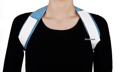 Posture Corrector Clavicle Support Back Shoulder Brace By Flexibrace®
