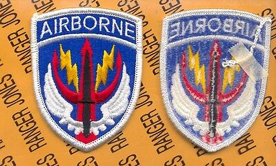 US Army Special Operations Command Central Airborne SOCCENT uniform patch m/e  ()