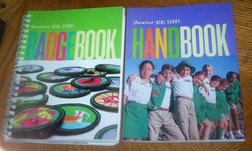 Girl Scout Junior Handbook & Badge Book Set