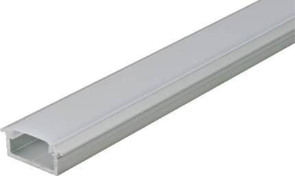 2 Meters LED Aluminum Profile Suit For Recessed Mounting