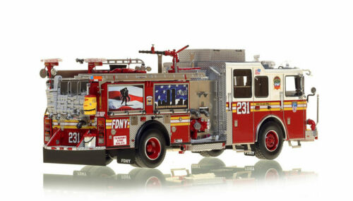 FDNY Seagrave Engine 231 Brooklyn 1/50 Fire Replicas FR046-231 New Sold Out