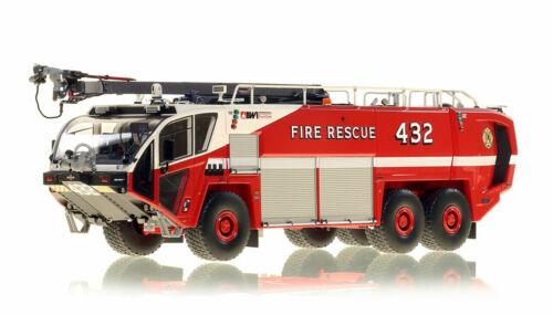 Baltimore Washington BWI 6X6 STRIKER 3000 ARFF 432 1/50 Fire Replicas FR096-432