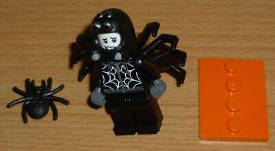 Lego Sammelfigur Serie 18 Mann im Spinnenkostüm + 2 - 2 Gesichter Kostüm