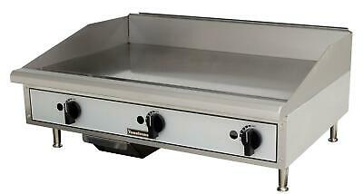 Toastmaster Tmgm36 Countertop 36 Manual Control Gas Griddle
