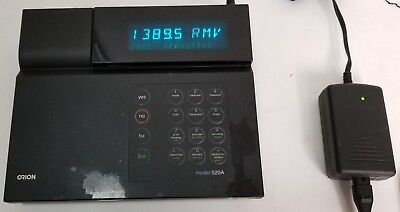 Orion 520a Digital Bench Ph Meter Phmvrmvorp Professional Lab Unit Deck