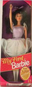 MY FIRST BARBIE 1993 Ballet-has molded-on shoes/painted-on tights Helensvale Gold Coast North Preview