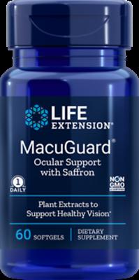 3X $14.50 Life Extension Macuguard Ocular Support Saffron FR