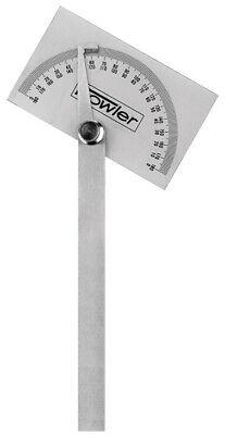 Fowler 52-450-010-0 Rectangular Head Protractor With Rectangular Head