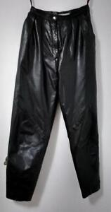 Ladies Vintage 2-piece leather suit & leather pants
