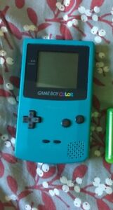 Gameboy color with games, good condition