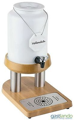 gastlando - Milchspender - Milchdispenser mit 4,0 Liter Inhalt