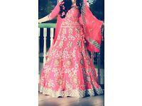 Bridal mendhi/wedding/walima dress