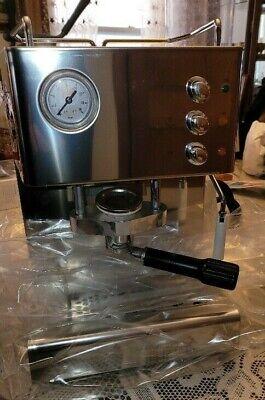 Quick Mill Senago Lucido Commercial Pods Espresso Cappuccino Machine