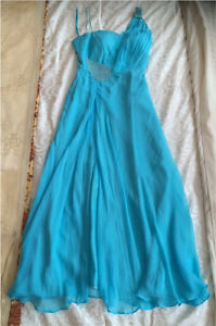 Baby blue cocktail dress ($55)