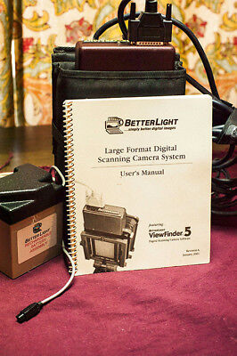 Betterlight large format digital super 6k HS usb scanning back and pano head ()