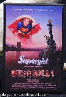 """Locker Magnet. Helen Slater Supergirl Photo 2/"""" X 3/"""" Fridge"""