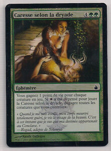 MTG-Magic-RAV-FOIL-Dryads-Caress-Caresse-selon-la-dryade-French-VF