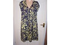 Ladies dress by Monsoon (used) - size 14