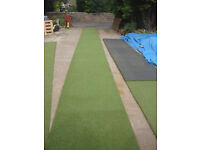 USED TOP Quality artificial grass Ideal Covering Decking Golf Putting Green Caravans Garden