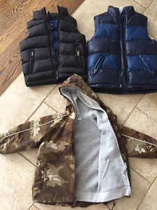 GAP Vests and CP Coats