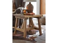 Hartford tressle side table from Next