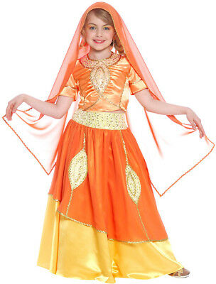 Bollywood Prinzessin Kinderkostüm für Mädchen - Bollywood Prinzessin Kostüme
