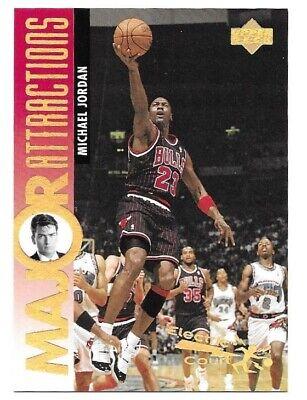 1995-95 Upper Deck Electric Court GOLD - MICHAEL JORDAN Rare Parallel Insert