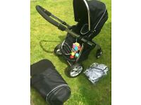 Babylo travel system pram pushchair.