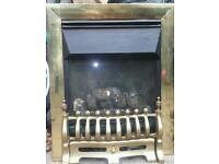 Flueless 100% efficient gas fire