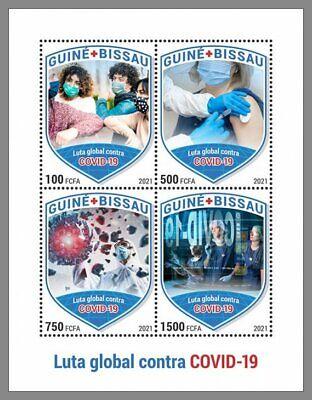 GUINEA BISSAU 2021 ** Pandemie Rotes Kreuz Croix Rouge Red Cross #19-123aB