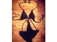 BooHoo Black All In One Swimsuit - BRAND NEW