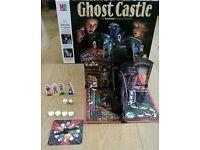 Ghost Castle MB Board Game Vintage 1985