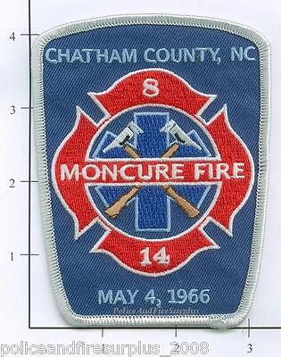 North Carolina - Chatham County - Montcure NC Fire Dept Patch