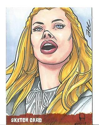 The Wicker Man Sketch Card created by ATC Adam Cleveland [ 1 ] ()