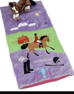 Children's horse slumber bag