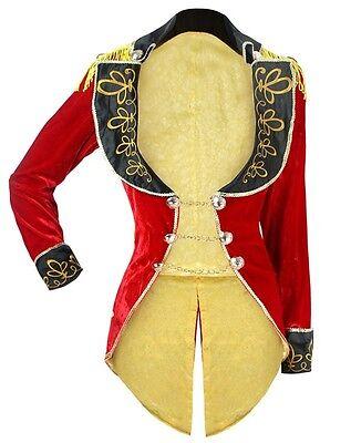 Ringmistress Ring Mistress Ringmaster Burlesque Showgirl Tailcoat Jacket Costume