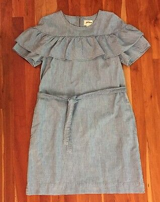 J.Crew Edie dress in chambray Sz 0 $98 CURRENT ITEM