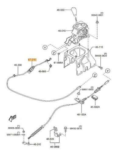 MAZDA OEM 07-14 CX-9-Stoplight Stop Brake Light Switch