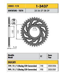 1-3437-CORONA-PASSO-520-per-DUCATI-800-SCRAMBLER-CLASSIC-ABS-2015-2016-217