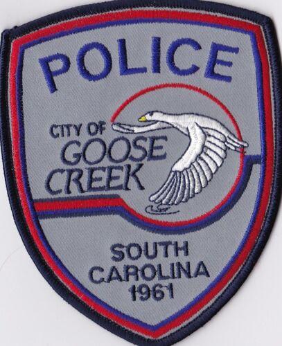 City of Goose Creek Police Patch South Carolina SC