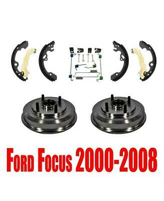 Ford Focus Brake (Rear Drums with Bearing Assembly Brake Shoes & Hardware Ford Focus 2000-2008 )