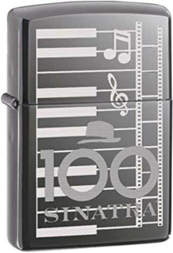 Rare Retired 2015 Frank Sinatra 100th Birthday Piano Keys Zippo Lighter